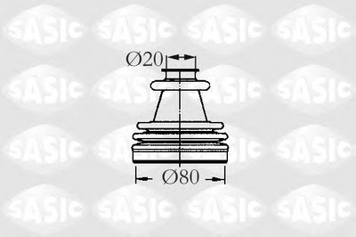 Комплект пылника, приводной вал SASIC купить