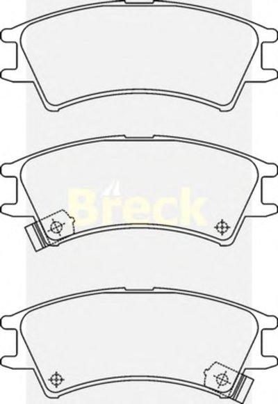 Комплект тормозных колодок-1