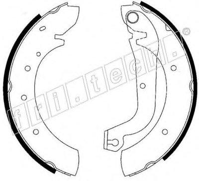 Комплект тормозных колодок REPARATION KIT fri.tech. купить