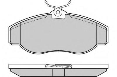 Комплект тормозных колодок, дисковый тормоз E.T.F. купить