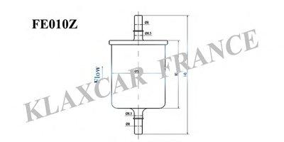Фильтр топливный (FE010Z) Klaxcar France