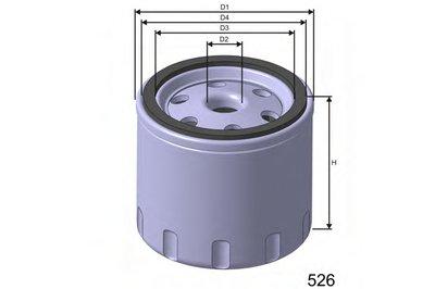 M370 MISFAT Топливный фильтр