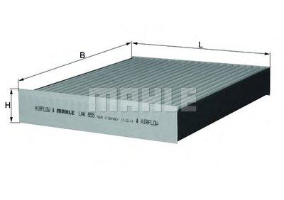 LAK855 KNECHT Фильтр, воздух во внутренном пространстве