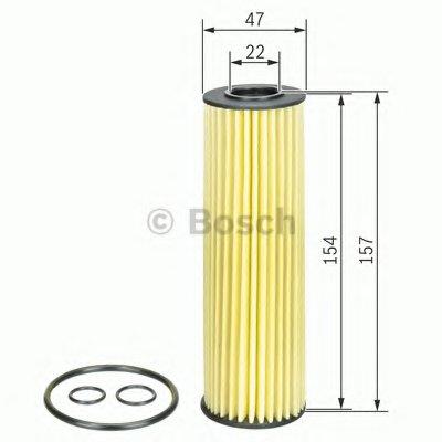 F026407132 BOSCH Масляный фильтр