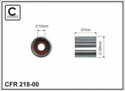 29x10x27 Ролик натяжний паска ГРМ (29X10X27) Audi/Skoda/VW 1.8T 95- CAFFARO 21800 для авто AUDI, SEAT, SKODA, VW с доставкой
