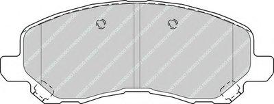 FERODO FDB4388 Тормозные колодки дисковые-1