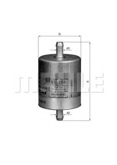 KL145 KNECHT Топливный фильтр