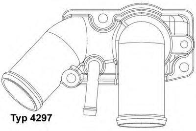 429792D WAHLER Термостат, охлаждающая жидкость