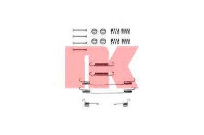 Комплектующие, тормозная колодка NK купить