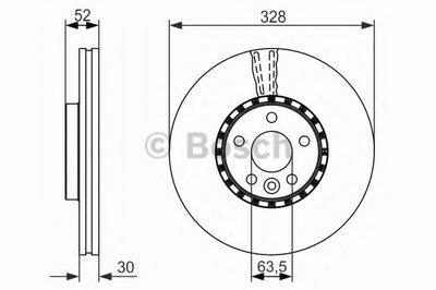 Гальмівний диск VOLVO XC60 09- F