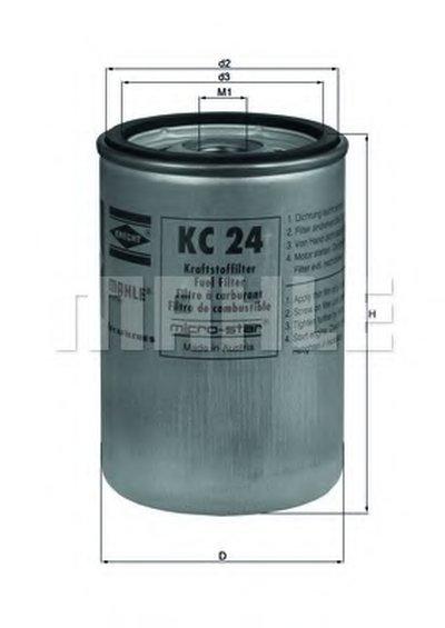 KC24 KNECHT Топливный фильтр