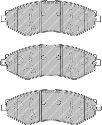 Колодки гальмівні дискові FERODO FDB1905