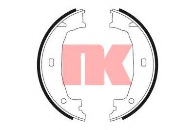 Комплект тормозных колодок; Комплект тормозных колодок, стояночная тормозная система NK купить