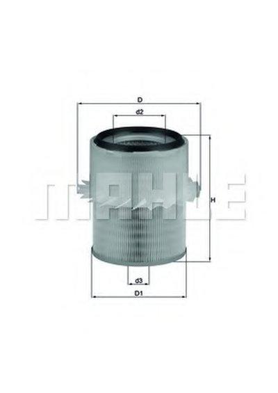 LX673 KNECHT Воздушный фильтр