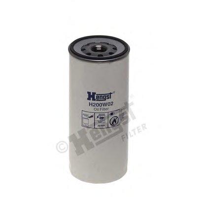 H200W02 HENGST FILTER Масляный фильтр