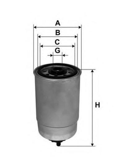 Топливный фильтр ACTIV OPEN PARTS купить