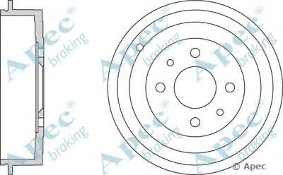 Тормозной барабан APEC braking купить