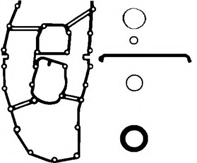 Комплект прокладок корпуса газораспред. механизма ELRING WILMINK GROUP купить