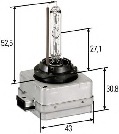 Лампа накаливания, фара рабочего освещения; Лампа накаливания, фара дальнего света; Лампа накаливания, основная фара; Лампа накаливания; Лампа накаливания, основная фара HELLA купить