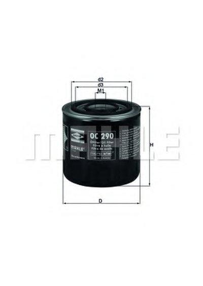 OC290 KNECHT Масляный фильтр