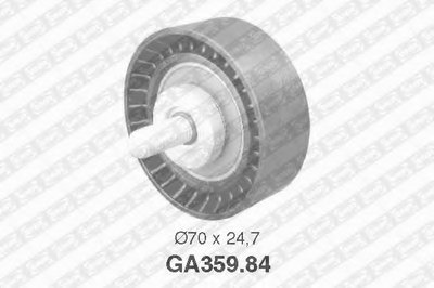 """Ролик привідного ременя CITROEN/FIAT/PEUGEOT C5/C8/Ulysse/309/406/607/807 """"1.6-2.2"""" 85-08"""