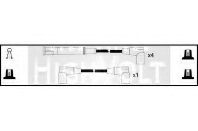 Комплект проводов зажигания HighVolt STANDARD купить