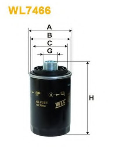 WIX FILTERS WL7466