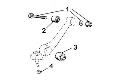 Комлектующее руля, подвеска колеса OCAP купить