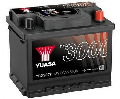 Стартерная аккумуляторная батарея YBX3000 SMF Batteries YUASA купить
