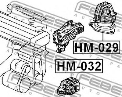 Подушка двигателя-2