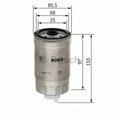 Топливный фильтр BOSCH купить