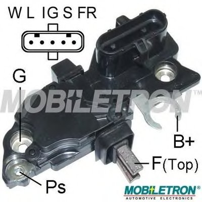 VRB396 MOBILETRON Регулятор генератора