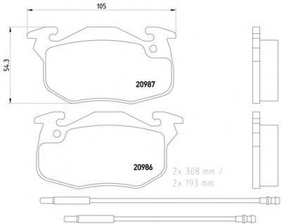 Колодки Тормозные Дисковые Citroen Saxo 96- 1.0-1.1 (Rim. 4 Hole), 1.4-1.5D (Невентилир.диски) = TEXTAR 2090603 для авто CITROËN, MEGA, PEUGEOT с доставкой