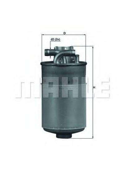 KL154 KNECHT Топливный фильтр