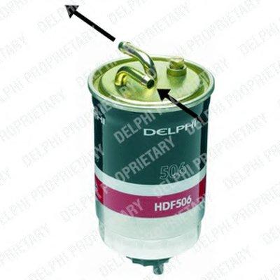 HDF506 DELPHI Топливный фильтр