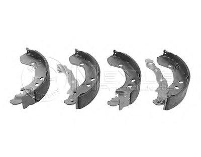 Комплект барабанних гальмівних колодок MEYLE 36145330005