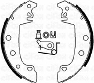 Комплект тормозных колодок CIFAM купить