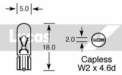 Лампа накаливания, дополнительный фонарь сигнала торможения Upgrade LUCAS ELECTRICAL купить