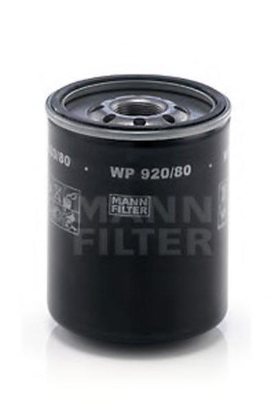WP92080 MANN-FILTER Масляный фильтр