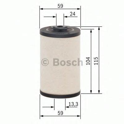 1457431158 BOSCH Топливный фильтр