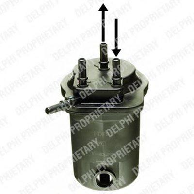 Фильтр топливный DELPHI HDF917 для авто RENAULT с доставкой
