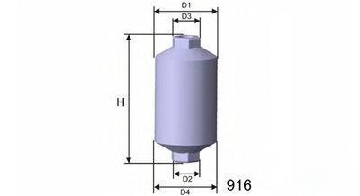 E502 MISFAT Топливный фильтр