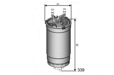 M391 Фильтр Топливный MISFAT M391 для авто AUDI, FIAT, SEAT, SKODA, VW с доставкой