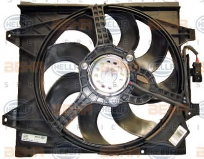Вентилятор, охлаждение двигателя BEHR HELLA SERVICE купить