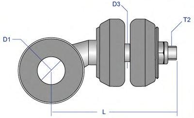 CILS3267 MOOG Тяга / стойка, стабилизатор -2