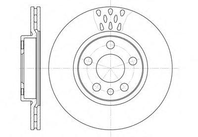 644211 REMSA Тормозной диск