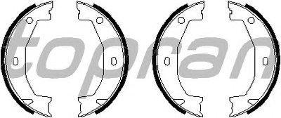 Комплект тормозных колодок, стояночная тормозная система TOPRAN купить
