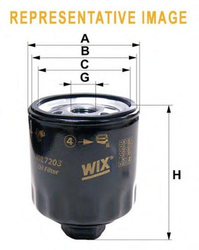 WL7277 WIX FILTERS Масляный фильтр