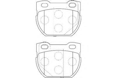 Комплект тормозных колодок, дисковый тормоз WAGNER купить