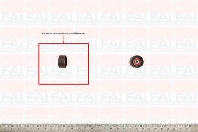Паразитный / Ведущий ролик, зубчатый ремень FAI AutoParts купить
